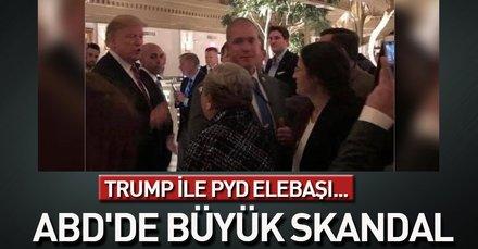 PYD-YPG elebaşı İlham Ahmed Kongre'de Trump ile görüştü