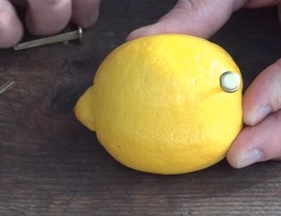 Rus mühendis limon ile inanılmazı başardı! Youtube videosu milyonlar izlendi