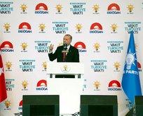 Cumhurbaşkanı Erdoğan, AK Partinin seçim beyannamesini açıkladı
