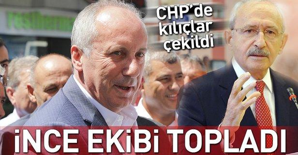 İnce: CHP genel başkana ve MYK üyelerine ait değildir
