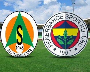 Alanyaspor-Fenerbahçe maçı saat kaçta?