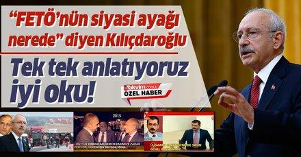 Al sana FETÖ'nün siyasi ayağı Kılıçdaroğlu!