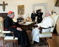 Çocuk tacizcisi kardinal, Papa'ya gitti