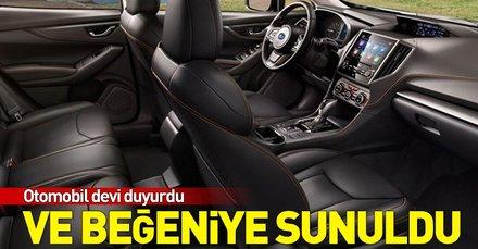 Subaru XV'ye yeni deri döşeme seçeneği