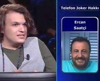Ercan Saatçi sosyal medyada alay konusu oldu!