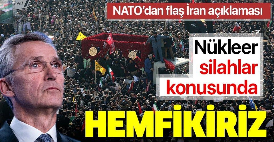 Son dakika: NATO Genel Sekreteri'nden flaş İran açıklaması