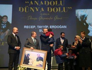 """""""Anadolu Dünya Dolu"""" programından müthiş kareler"""