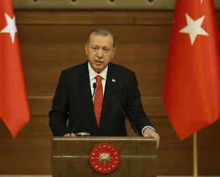 Başkan Erdoğan o davayı geri çekti