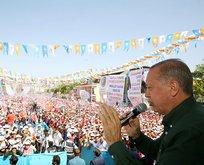 Erdoğan'dan İnce'ye: Birinci çıkamazsan istifa edecek misin?
