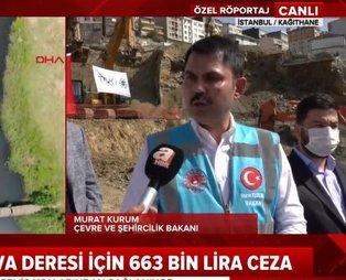 Bakan Kurum'dan CHP'li İmamoğlu'na Riva tepkisi: Tavsiyemiz boş laflarla değil icraatla ön plana çıkmasıdır