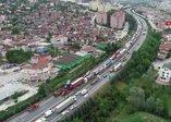 TEM'de feci kaza! TIR, kamyona çarptı; Ankara yönü ulaşıma kapandı.