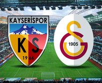 Kayserispor-Galatasaray maçı saat kaçta?