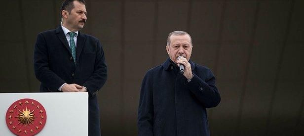 Cumhurbaşkanı Erdoğandan Trumpa sert tepki