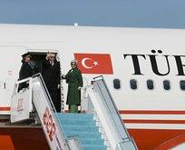 Başkan Erdoğan Sırbistan'da! Resmi törenle karşılandı