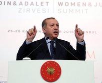 Cumhurbaşkanı Erdoğan'dan AP'ye sert mesaj