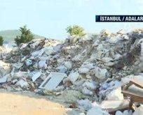 Yine CHP'li belediye! Çöplük kesim alanı olarak gösterildi