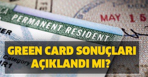 Grreen Card sonuçları açıklandı mı? 2021 Green Card sonuçları ne zaman açıklanıyor?