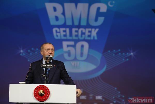 Açılış töreninde renkli anlar! Erdoğan'ın Sofuoğlu sözleri salondakileri güldürdü