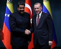 Erdoğan ve Maduro'dan kararlılık vurgusu