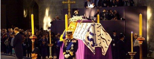 Kraliçe 2. Elizabeth'in cenaze töreni için prova yapıldı