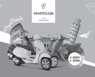 Anatolium AVM vespa kampanyası çekiliş sonuçları