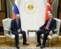 Erdoğan ve Putinden kritik görüşme