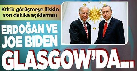 Son dakika: ABD'den Biden - Başkan Erdoğan görüşmesine yönelik açıklama
