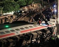 Tayvandaki tren kazasında bilanço ağırlaşıyor