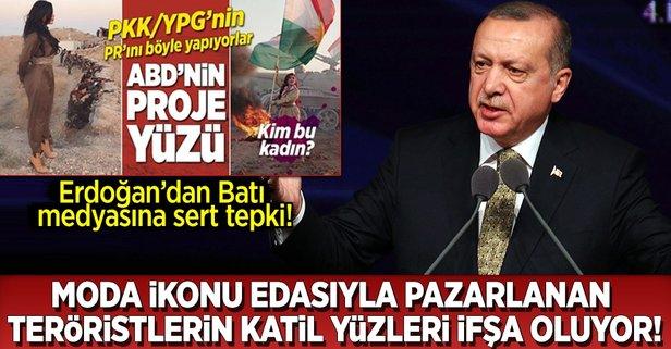 Erdoğandan Batı medyasına sert tepki