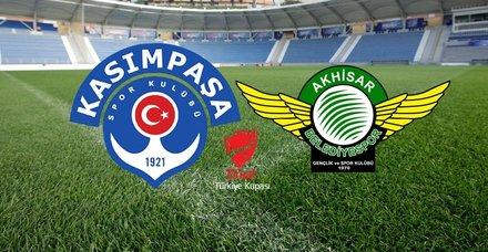 Kasımpaşa - Akhisarspor maçı hangi kanalda, saat kaçta? Ziraat Türkiye Kupası çeyrek final rövanşı