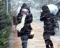 Meteorolojiden soğuk hava ve kar uyarısı!