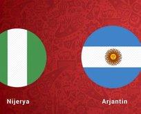 Nijerya Arjantin maçı saat kaçta? Nijerya Arjantin hangi kanalda ve ne zaman?