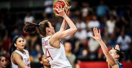 A Milli Kadın Basketbol Takımımız Slovenya'ya yenildi! Slovenya 62-55 Türkiye