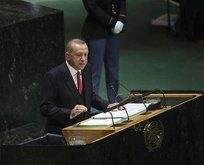 Erdoğan'ın konuşmasını böyle paylaştı: Ne lider ama!