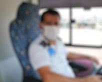 Bölücü otobüs şoförüne tokat!