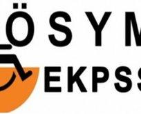 EKPSS tercih, yerleştirme, atama ve kura sonuçları açıklandı mı?