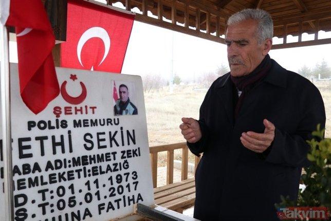 Şehit Fethi Sekin 3. ölüm yıl dönümünde unutulmadı!
