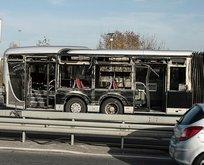 Yenibosna'da metrobüs kazası! Yaralılar var