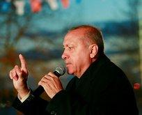 Başkan Erdoğan'dan Sarıyer'de önemli açıklamalar