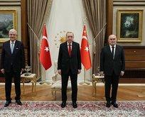 Başkan Erdoğan, Volkan Bozkır'ı kabul etti
