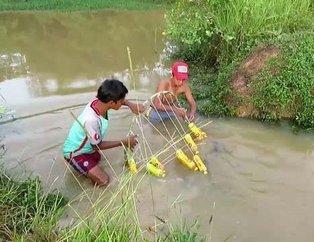 YouTube'ta rekor kıran video: Böyle balık avı taktiği görülmedi