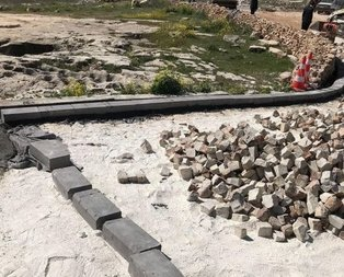 Göbeklitepede beton isyanı