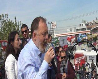 HDP mitingine CHP desteği