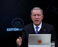 Bakan Akar'dan ABD Senatosu'nun kararına tepki
