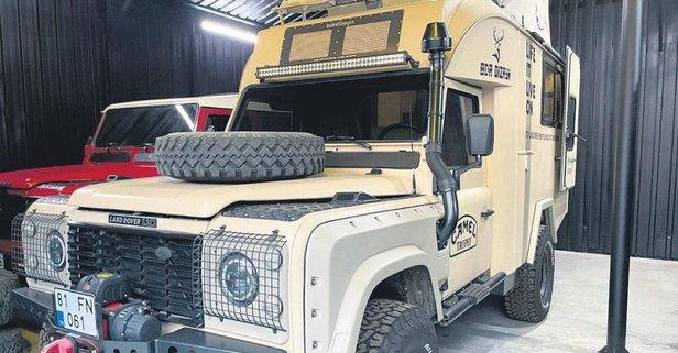 4x4'lük karavan