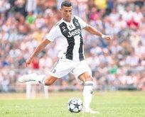 Ronaldo'nun gösteri saati