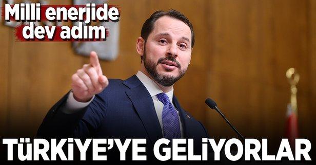Enerji devleri Türkiyede buluşuyor!