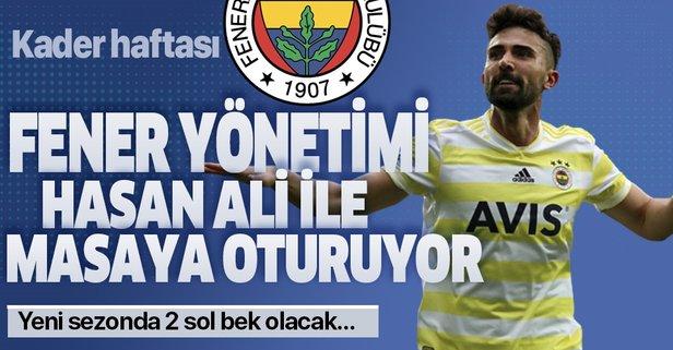 Fenerbahçe yönetimi Hasan Ali ile masaya oturuyor