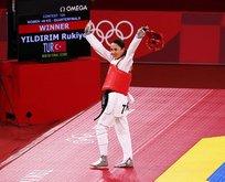 Rukiye olimpiyat dördüncüsü oldu