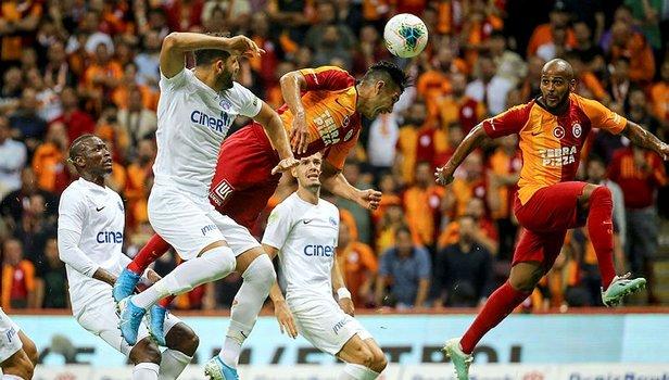 Galatasaray - Kasımpaşa maçından kareler | Video izle